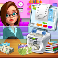 Bank Manager Cash Register – Cashier Games  on PC / Download (Windows 10,7,XP/Mac)