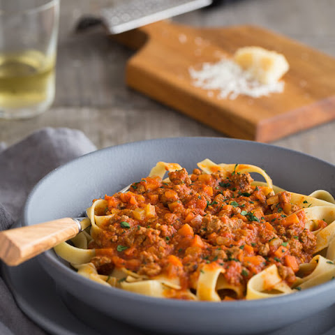 Bison Bolognese Meat Sauce