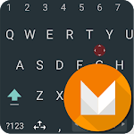 aitype Marshmallow dark theme Apk