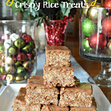 Gourmet Fudge Crispy Rice Treats
