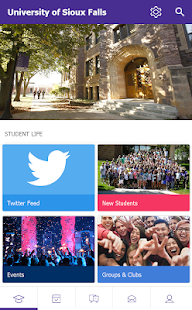 University of Sioux Falls - screenshot