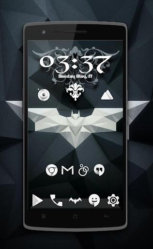 KasatMata UI Icon Pack Theme - screenshot