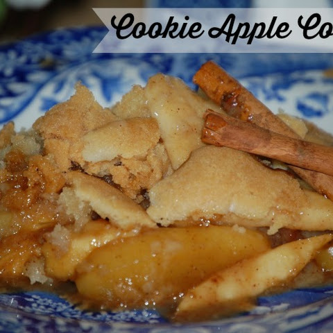 Cookie Apple Cobbler