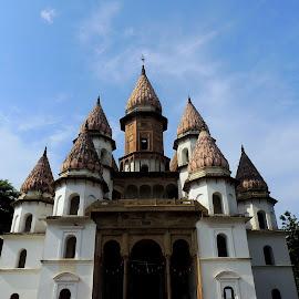 Hanseshwari Temple, Bengal, India by Avishek Gayen - Buildings & Architecture Places of Worship