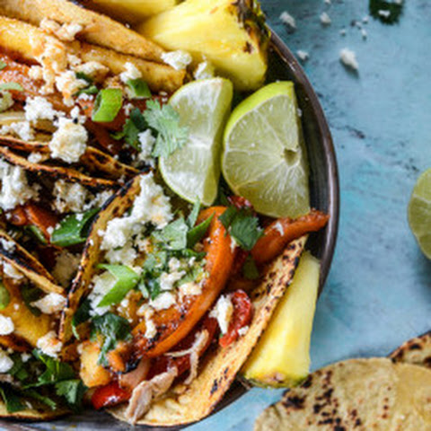 Pineapple Chicken Fajitas