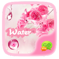 (FREE) GO SMS WATER THEME APK for Bluestacks