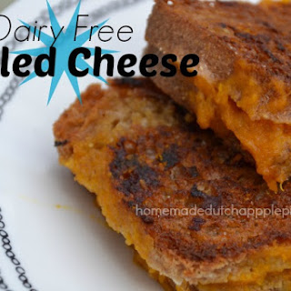 "Dairy Free Grilled ""Cheese"""