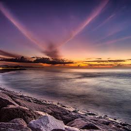 Manyar Beach by Ade Irgha - Landscapes Waterscapes ( bali, explorebali, beach, sunrise, manyarbeach )