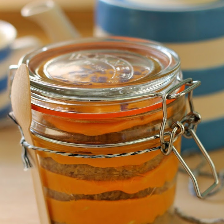 Spiced Pumpkin Cake In a Jar Recipe | Yummly