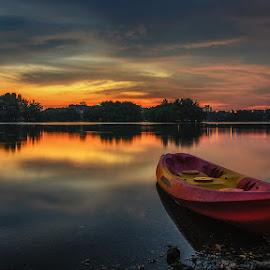 Twilight by Waily Harem - Landscapes Sunsets & Sunrises ( natural light, nature, putrajaya wetland, sunset, twilight, landscapes )