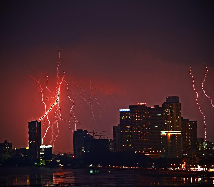 Lightning  by Kevin Chan - Landscapes Weather (  )