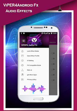ViPER4Android Fx 2017 - Sound Equalizer APK screenshot thumbnail 4
