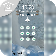 Dim light snow theme