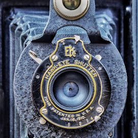 Shutter by Michael Brunsfeld - Artistic Objects Technology Objects ( vintage camera, camera, lens, closeup )
