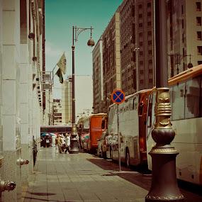 Bus Park by Adi Mumun'k - City,  Street & Park  City Parks ( bus, park, city, Urban, City, Lifestyle )