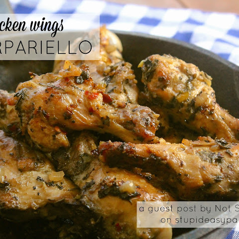 Chicken Wings Scarpariello