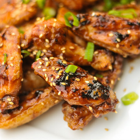 Hoisin Glazed Chicken Wings