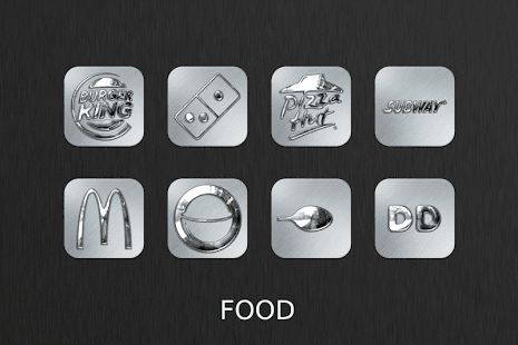 Silver Chrome Icon Pack- screenshot thumbnail