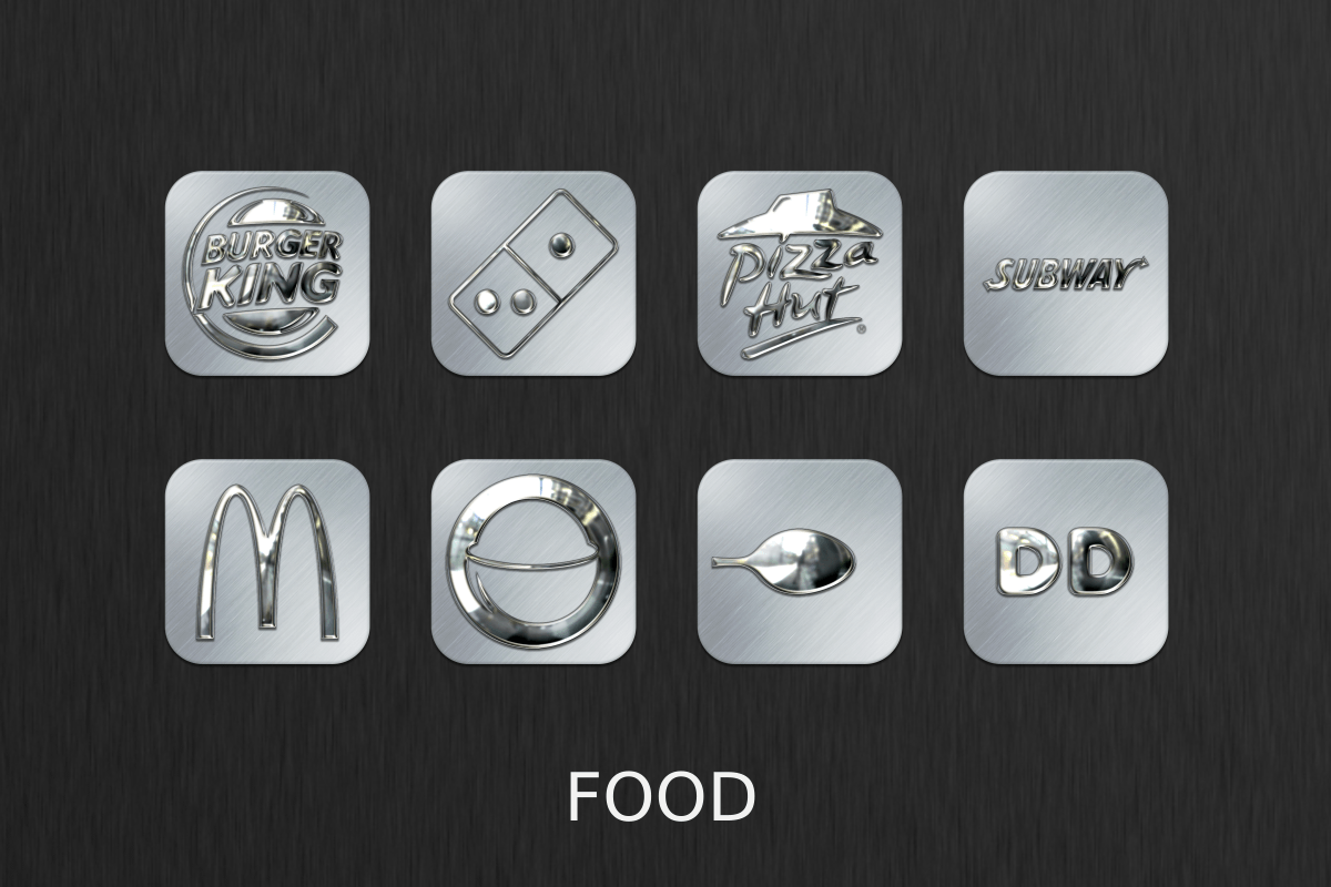 Silver Chrome Icon Pack Screenshot 3