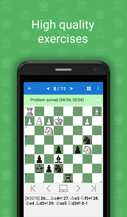 Mate in 3-4 (Chess Puzzles) Screenshot