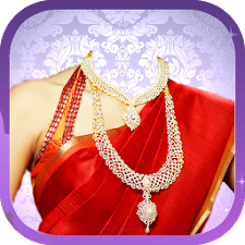 Jewellery Traditional Saree