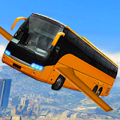 Game Futuristic Flying Bus Racing APK for Windows Phone