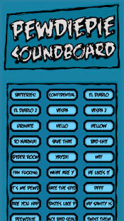 PewDiePie Soundboard - screenshot