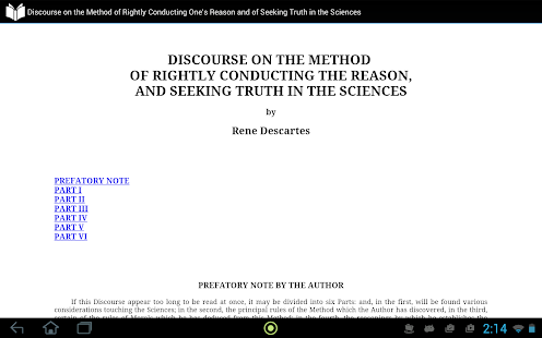 Discourse on the Method - screenshot