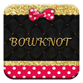 Free Pink Gold Bowknot APK for Windows 8
