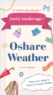 OshareWeather - For cute girls screenshot for Android
