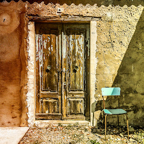 door 15 and chair by Antonello Madau - Instagram & Mobile iPhone