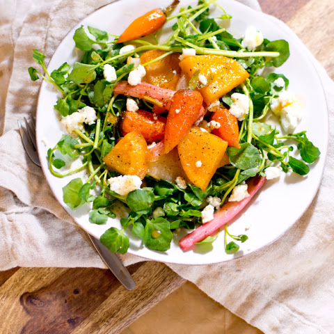 Fall Vegetable and Watercress Salad