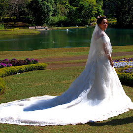 White Bride by Aung Kyaw Soe - People Fashion