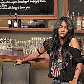 rockin' girl by Budie Deathlust - People Portraits of Women