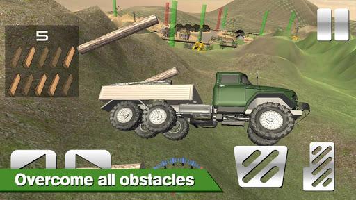 Lumberjack Timberman Driver - screenshot
