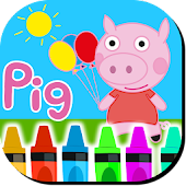 Game Coloring Book Peppy Pig APK for Kindle