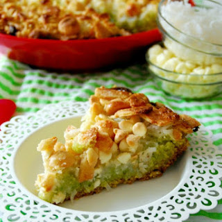 Key Lime Magic Bar Pie
