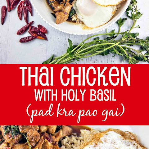 Thai Chicken with Holy Basil (pad kra pao gai)