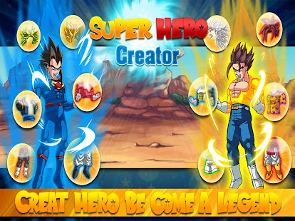 Game Create Dragon Z Saiyan Warrior APK for Kindle