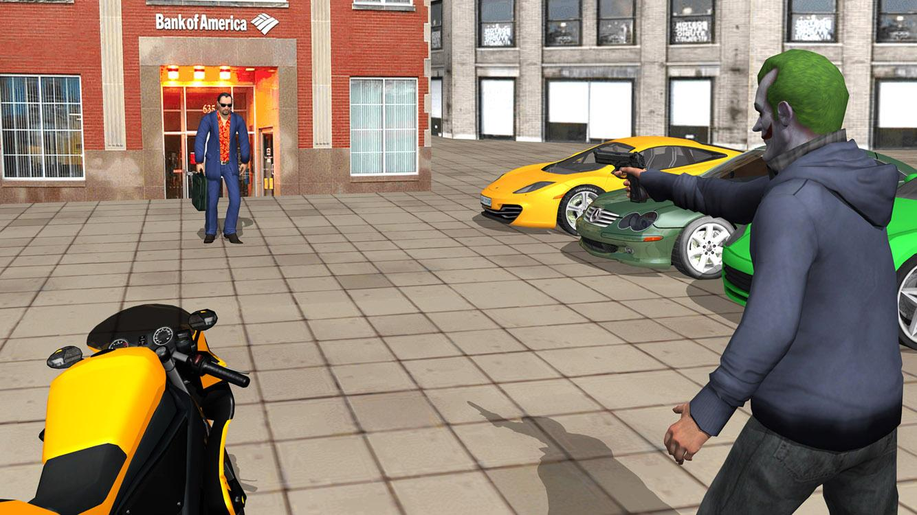 Grand City Crime Gangster game Screenshot 1