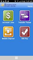 Screenshot of BSB Mobile