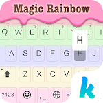 Magic Rainbow Keyboard Theme 7.0 Apk