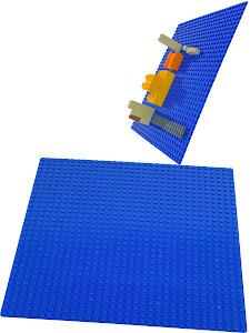 Пластина Baseplate для конструкторов, синяя, одностороняя