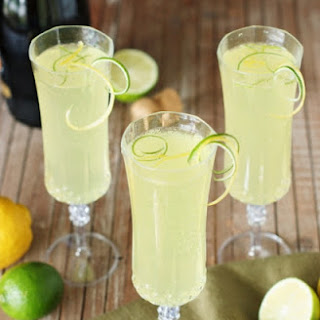 Sparkling Limoncello Cooler (Printable recipe)