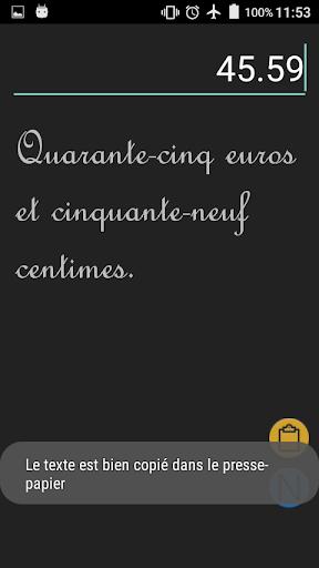 Nombre en lettres screenshot 3