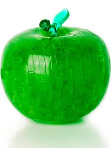 3D Crystal Puzzle Яблоко L Светильник New