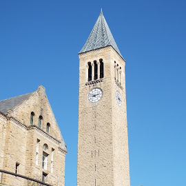 Mcgraw Tower by Dale Moore - Buildings & Architecture Public & Historical ( university, clock tower, college, new york, historic )