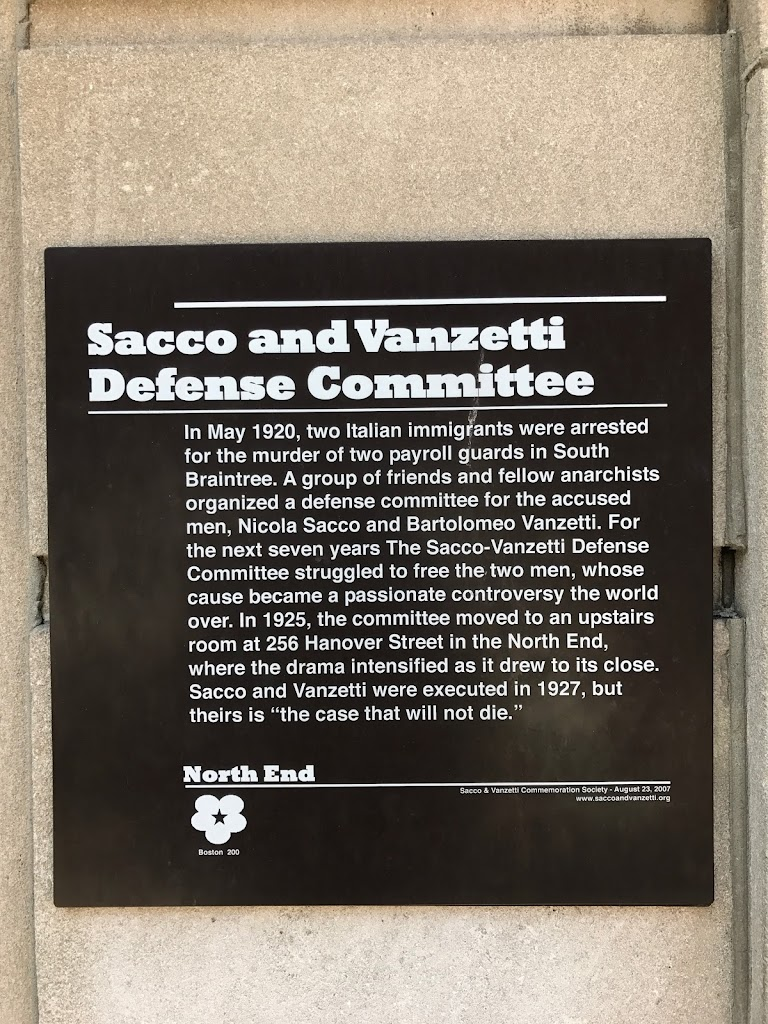 In May 1920, two Italian immigrants were arrested for the murder of two payroll guards in South Braintree. A group of friends and fellow anarchists organized a defense committee for the accused men, ...