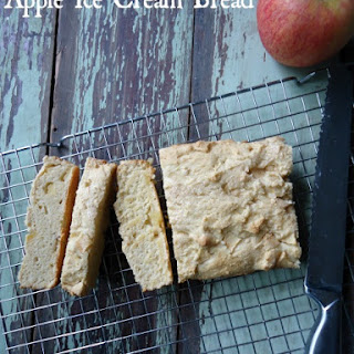 Apple Ice Cream Bread