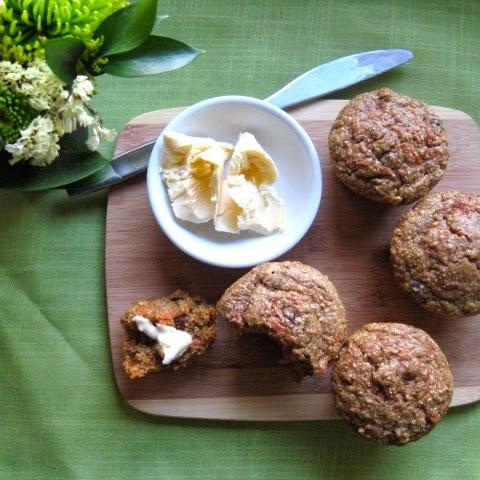 Healthy Pumpkin Carrot Raisin Muffins Recipe | Yummly